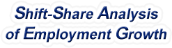 Shift-Share Analysis of Arkansas Employment Growth and Shift Share Analysis Tools for Arkansas